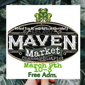 Maven Market March St. Paddy's Makers Fest @ Maven Designs | Tampa | Florida | United States
